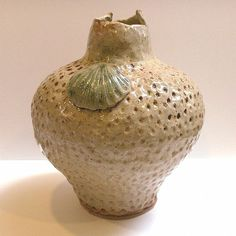 Art: Hand Built Clay Coil Vase