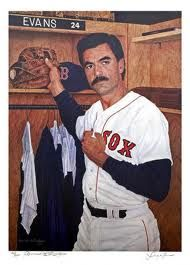 Dwight Evans RF 1972-1990.  My favorite Red Sox player of all time!