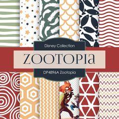 Zootopia Digital Paper DP4896A