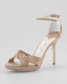 868a5aae2c3 Jimmy Choo Marion Suede Platform Sandal