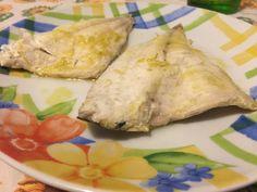 Filetti di branzino Dukan all'aroma di funghi e limone, ricetta light | Un Avvocato ai Fornelli