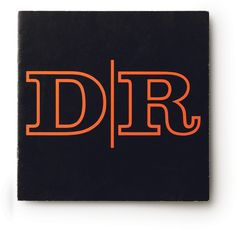 Logo for the famous Design Research store from he 1960s-70s