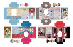 FINALLY! Found the miniature Blythe boxes. Can wait to make some. The kids will love me!