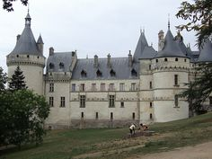 le Château de Chaumont (Loir-et-Cher) - Centre.