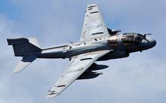 EA-6B Prowler Electronic Warfare A/C flown by US Navy