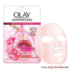 Olay Skinfusion Camellia Nourishing Face Sheet Mask 28g Snail White, Camellia Oil, Stress Causes, Sheet Mask, Radiant Skin, Face Serum, Combination Skin, Olay, Beauty