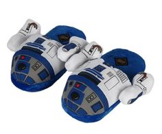 R2-D2 slippers! (Click for price)