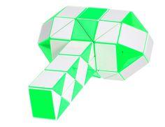 60-Wedge 2-Color Rubik's Snake / Rubik's Twist