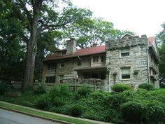 Historic Homes of Kansas City - Thomas Hart Benoton House in Roanoke