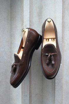 Septieme Largeur pebble grain loafer - mens dress sandals shoes, comfortable mens shoes, mens summer shoes