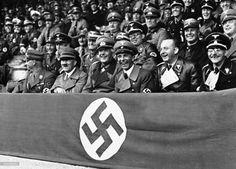 Adolf Hitler surrounded by Joseph Goebbels, Werner von Blomberg, Viktor Lutze, Dr. Dietrich and Karl Fiehler. (September 11, 1937 in Munich, Germany) (via dritte--reich)