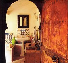 Inspire Bohemia: Bohemian Bathrooms