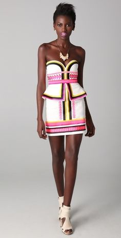 """Sass and Bide """"Pick n Mix"""" dress...looks gorg on this model!"""
