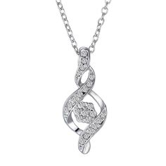 Hot Rhodium Plated Austria Crystal Infinity Pendant Necklaces Jewelry for Lady Chain Rhinestone Necklaces Women Wedding jewelry Infinity Necklace With Names, Silver Infinity Ring, Infinity Earrings, Infinity Jewelry, Infinity Pendant, Infinity Ring Wedding, Infinity Symbol, Stylish Jewelry, Double Infinity