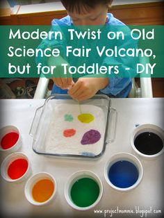 Project: Mommie: Spring Break Fun with Baking Soda and Vinegar