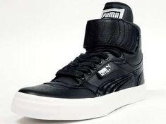 The Puma Sky Hi +Shoe For Men is Street Smart & Retro-Inspired #Shoes #Footwear trendhunter.com