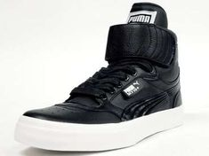 The Puma Sky Hi +Shoe For Men is Street Smart & Retro-Inspired #Shoes #Footwear trendhunter.com