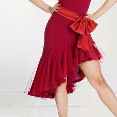Latin Dance Dress salsa tango Cha cha Ballroom Competition Dance Dress Skirt #Unbranded