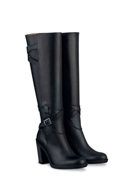 23029ff06bb Curvy calves  These 12 boots are for YOU! Black Heel Boots