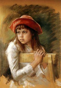 Berta Edelfelt 1883 - the artist's sister Albert Edelfelt (1854 – 1905, Finnish)