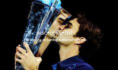 Roger Federer in six words. @JugamosTenis