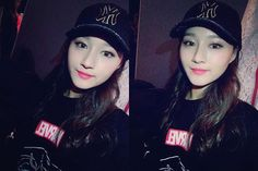 "[TRANS] 170130 Instagram Update "" #mlb #dreamcatcher #드림캐쳐 #Shingie #Siyeon #cap #prettycap "" Trans.: 7-dreamers Do not take without credit"