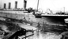 construction of the Titanic.