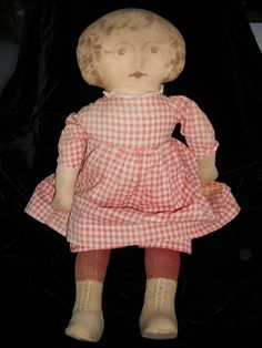 Art Fabric Mills - antique cloth doll
