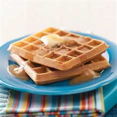 Easy Morning Waffles Recipe -Making your own fluffy waffles from scratch takes no time at all, and the touch of cinnamon in these beats any frozen store-bought version. —Taste of Home Test Kitchen