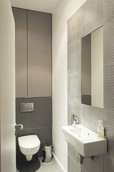 Rangement sdb (toilettes) Sylvie Cahen, architecture - urbanisme | AVENUE DE MESSINE