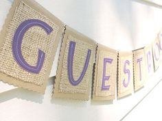 Burlap Wedding Items - 50 Must-Haves | Make these for different areas (gifts, cards, guestbook, drinks, etc.)