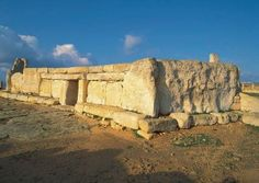 Hagar Qim, Malta, from 3200b.c. or so. Photo by ruth