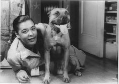 pitbullsbeingawesome: Billie Holiday and her dog breeds pet puppy dog breeds nose pitbull terrier terrier terrier pitbull moo pit pitbull poodle nosed pit mutt best friend month old pitbull Billie Holiday, Lady Sings The Blues, Nanny Dog, Puppies And Kitties, Vintage Dog, Vintage Black, Boxer Dogs, Boxers, Musica
