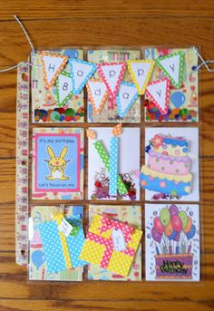 Happy Birthday Pocket Letter AnnMarie's Stamping Adventures!!: June 2015