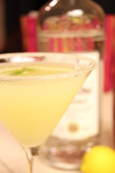 Oprah's Lemon Drop Martini