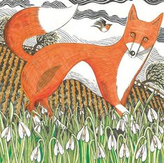 The 84 best spring greeting cards by british artists published by blank art cards by green m4hsunfo