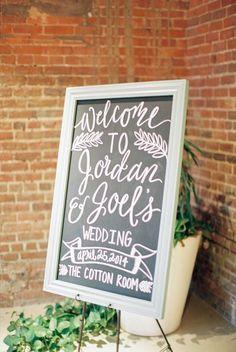 industrial chic wedding decoration idea