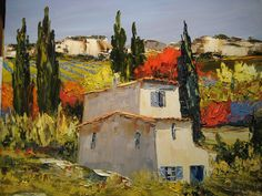 André Deymonaz, French painter, was born in Casablanca, Morocco. The Deymonaz family settled in Provence, located in the south of France. This became an inspiration for Deymonaz, using light to elevate his subject matter contained the intimate moments of everyday French life.