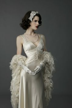 Wicked! Some ladies tan for their wedding, I would be all about getting as pale as possible to try to look like this.