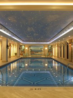 Insane pool room want! Cool Swimming Pools, Swimming Pool Designs, Cool Pools, Insane Pools, Room Wanted, Dream Pools, Building A House, Building Ideas, Interior Design Living Room