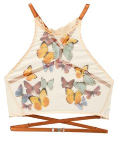 ace379e1b Butterfly Beauty Printed High Neck Cami - LEAVING SOON!