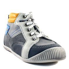 064A BABYBOTTE FLIPPER GRIS www.ouistiti.shoes le spécialiste internet de la chaussure bébé, enfant, junior et femme collection automne hiver 2015 2016