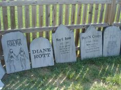 funny halloween tombstone sayings bing images see more here are 30 of the 31 ive made over the past 10 months