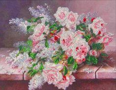 Набор для вышивания бисером Astrea 60016 Цветы на столе
