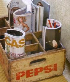 Do estoque para casa: Engradados Plásticos. | Notícias | Claris Esquadrias - Portas e Janelas