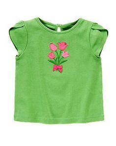 NWT Gymboree Flower Shower Best Mates Shirt Top Dog Girls size 4