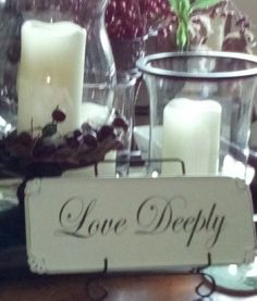 """""""love deeply"""", or not at all...."""