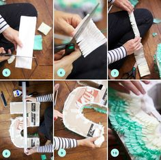 DIY Pinata...for those of us who don't want to spend $40 for cardboard that will end up in the trash.