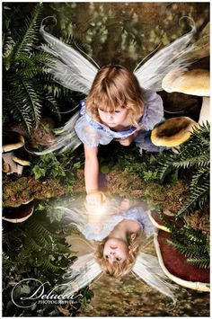 Fairy Portrait by Delucca Photography