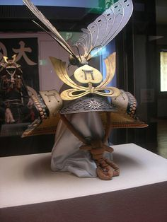 butterfly samurai helmet by caitlin_hansen, via Flickr